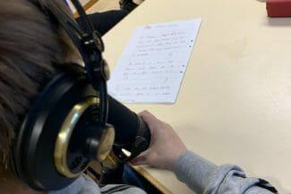 arvidsjaur skapande skola mikrofon horlurar barn musik